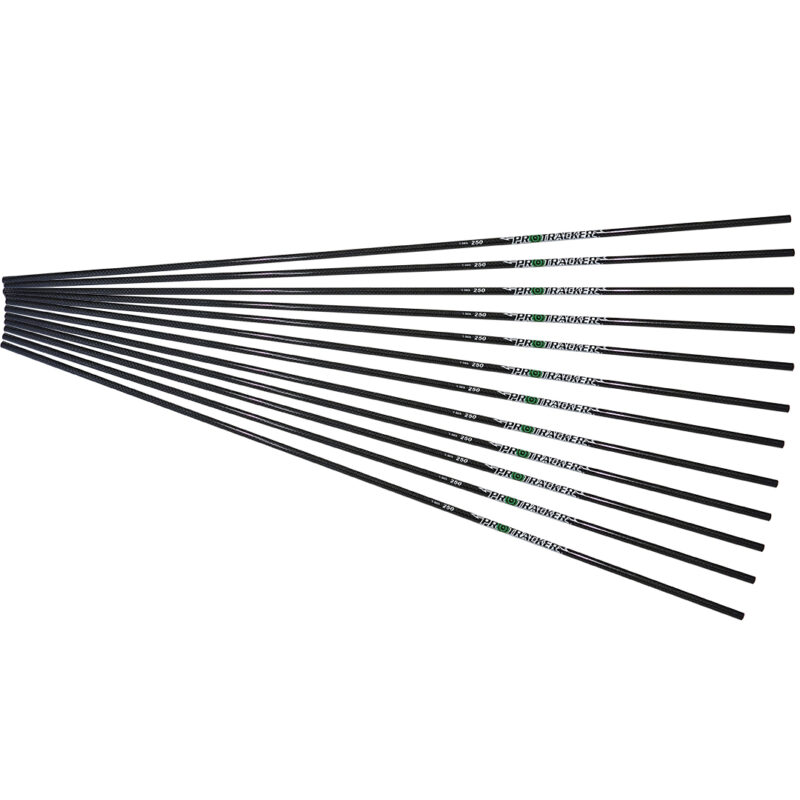 carbon fiber arrow 12 pack protracker archery