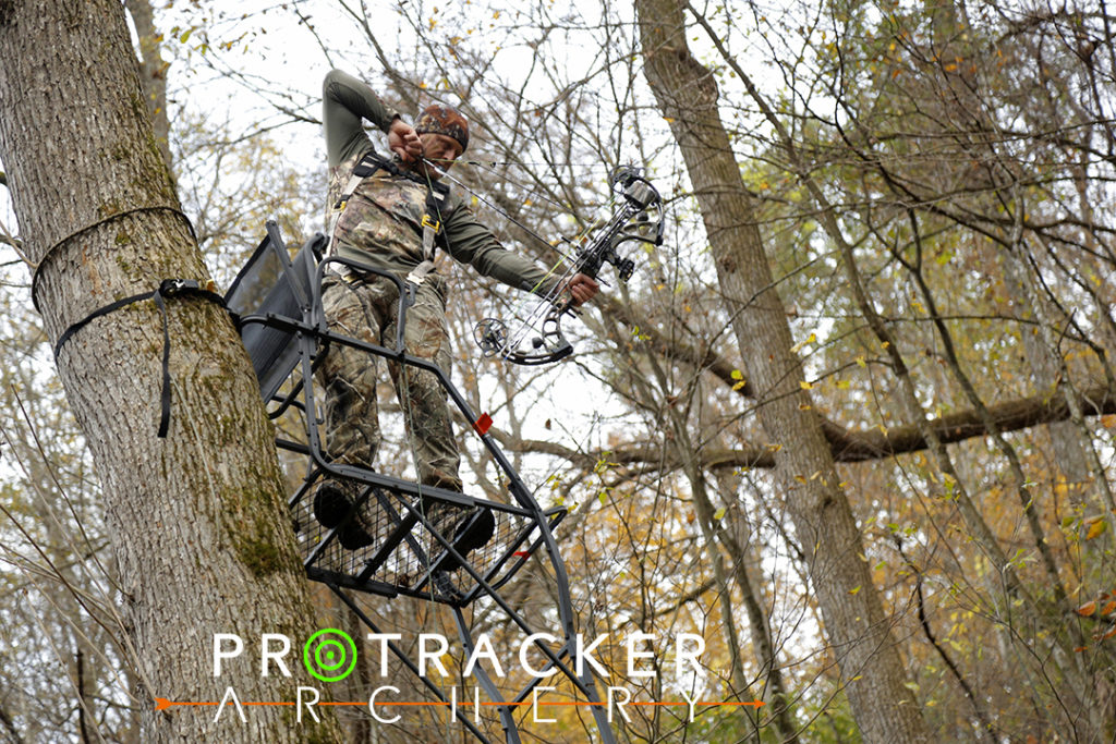 Go through the motions of shooting a big buck to prepare the shot.