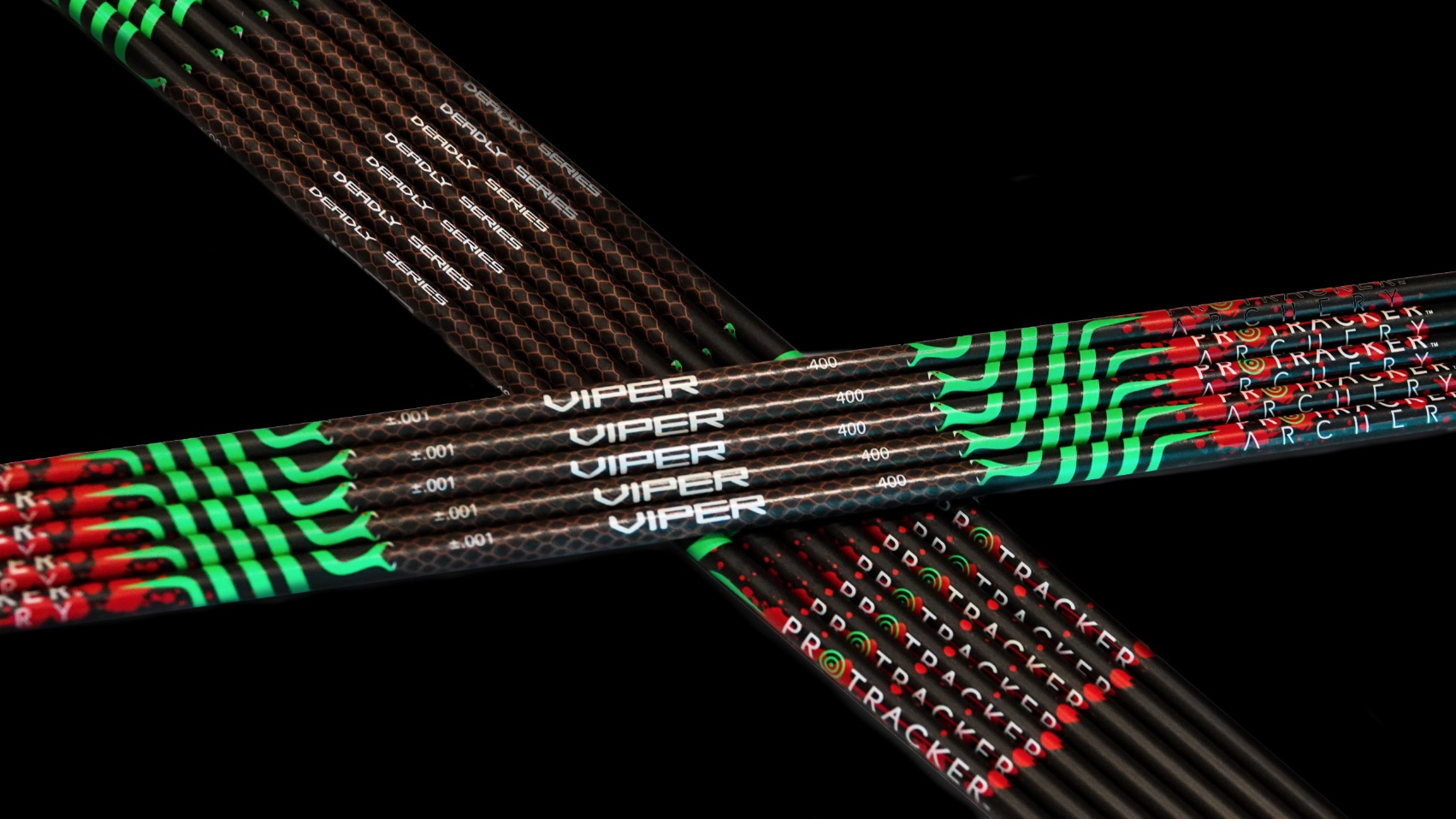 Carbon fibers arrows Protracker archery